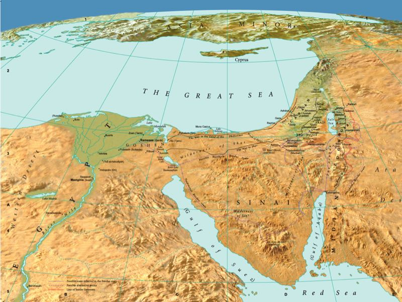 Bible Map Services