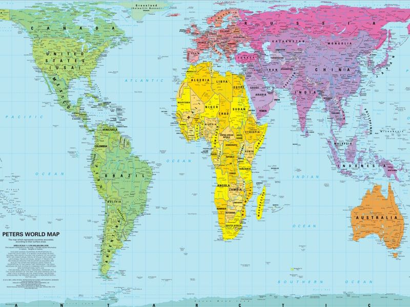 Peters Projection Service