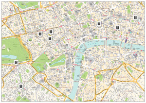 Central London Mini Map